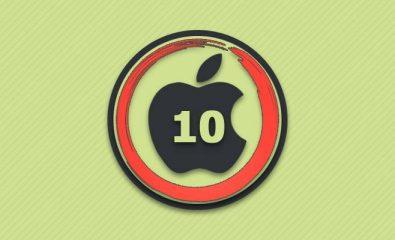 Перезагрузка айфон 10.