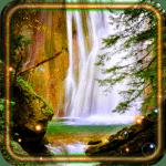 Водопад Звуки Live Wallpaper