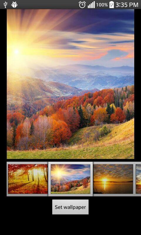 Восход солнца скриншот 4