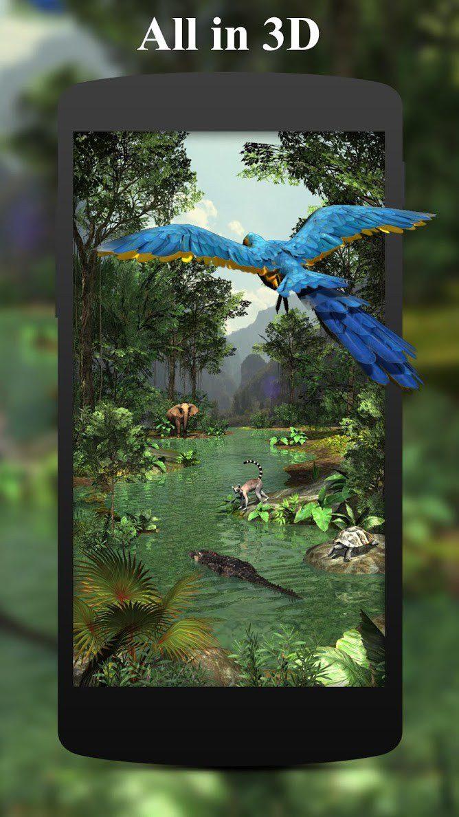 3D Rainforest скриншот 1