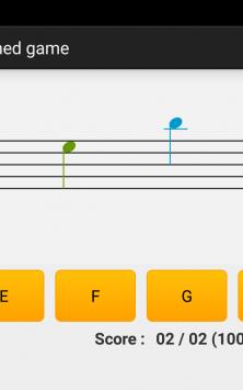 NotesDeMusique (Учимся читать ноты) скриншот 1