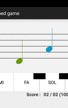 NotesDeMusique (Учимся читать ноты) скриншот 2