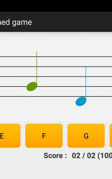 NotesDeMusique (Учимся читать ноты) скриншот 3