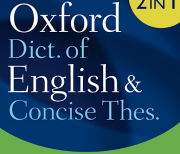 Oxford Dictionary of English & Thesaurus logo
