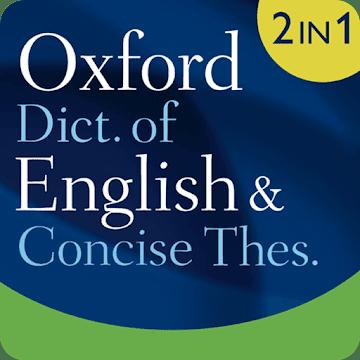 Oxford Dictionary of English & Thesaurus logo