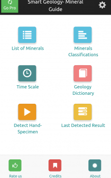 Smart Geology - Mineral Guide скриншот 1