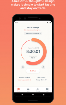 Zero - Fasting Tracker скриншот 1