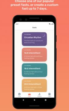 Zero - Fasting Tracker скриншот 2