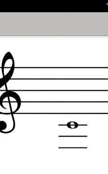 Ля-Ля-Фа эти ноты - чтение нот, Метроном и Тюнер скриншот 4