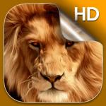 Лев живые обои