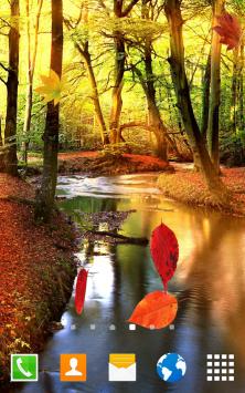 Осенний лес скриншот 1