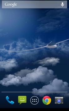 Полет в облаках 3D с погодой скриншот 2