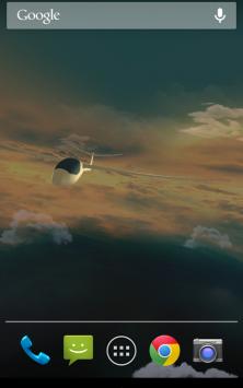 Полет в облаках 3D с погодой скриншот 3