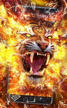 Свирепый огненный тигр скриншот 1