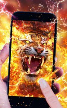 Свирепый огненный тигр скриншот 2