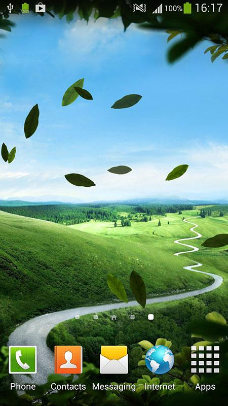 Зеленая природа скриншот 1