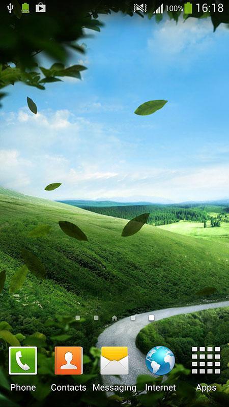 Зеленая природа скриншот 2