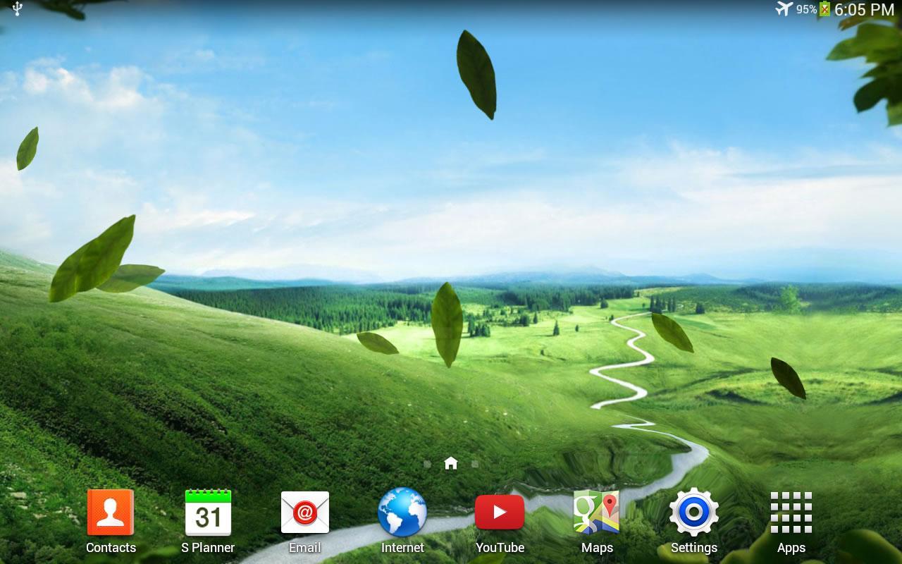 Зеленая природа скриншот 3