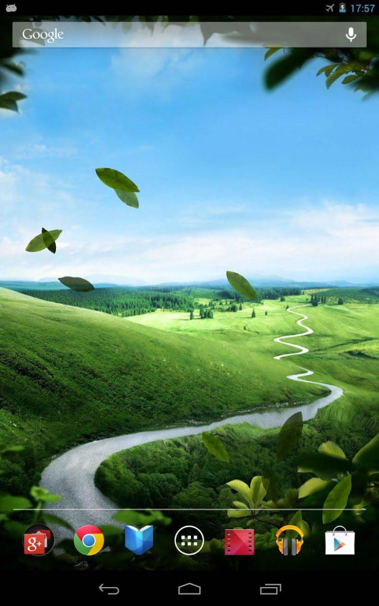 Зеленая природа скриншот 4