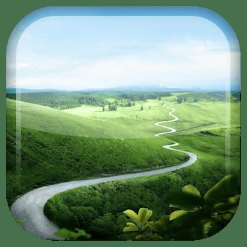 Зеленая природа logo