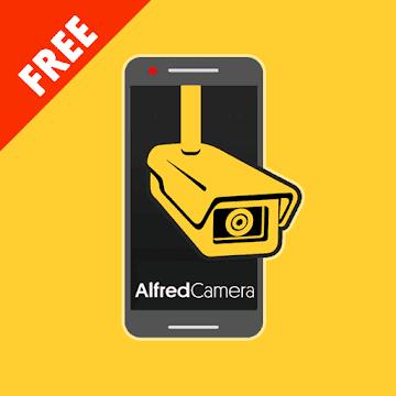 Alfred видеонаблюдение камера logo