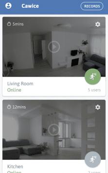 Cawice™ - моя бесплатная камера наблюдения скриншот 2