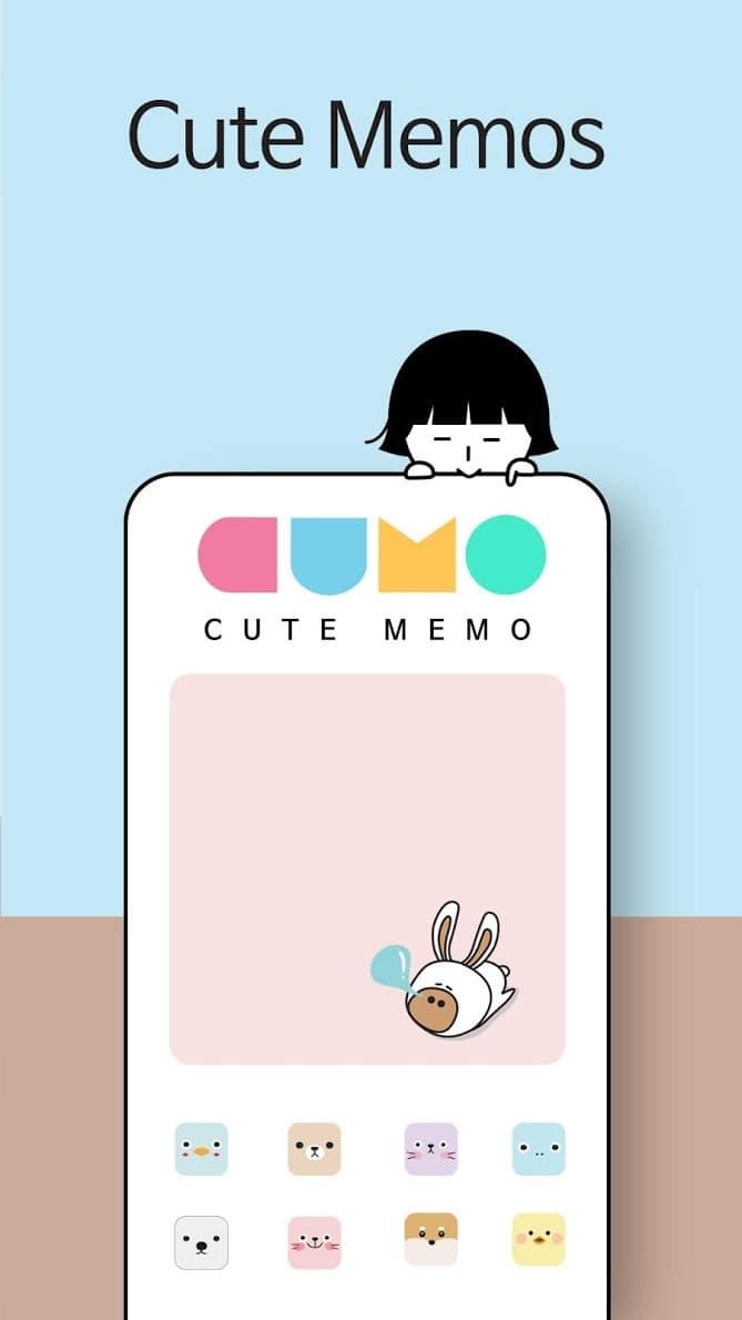 Cute Note - DDay Todo скриншот 1