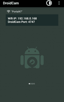 DroidCam Wireless Webcam скриншот 1