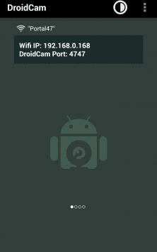DroidCam Wireless Webcam скриншот 4