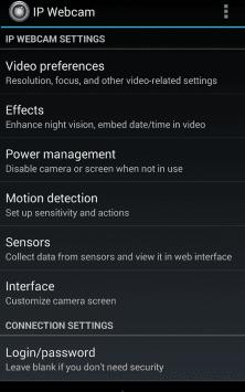 IP-камера скриншот 1