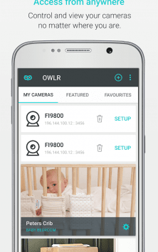 OWLR Multi Brand IP Cam Viewer скриншот 2