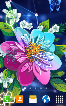 Абстрактные цветы скриншот 3