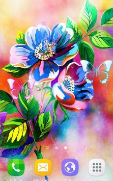 Абстрактные цветы скриншот 4