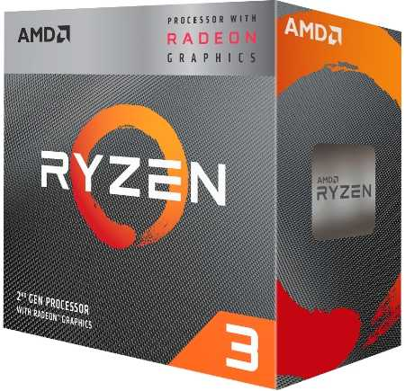 Упаковка процессора AMD.