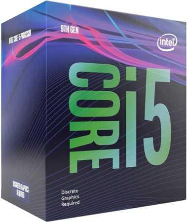 Упаковка процессора Intel.
