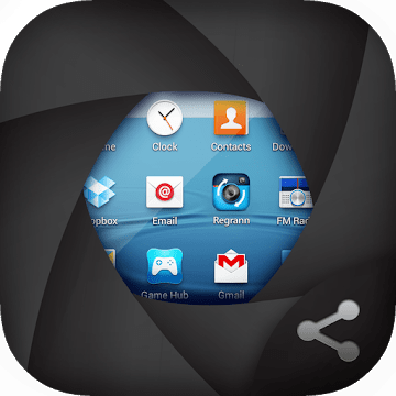 Screenshot X logo