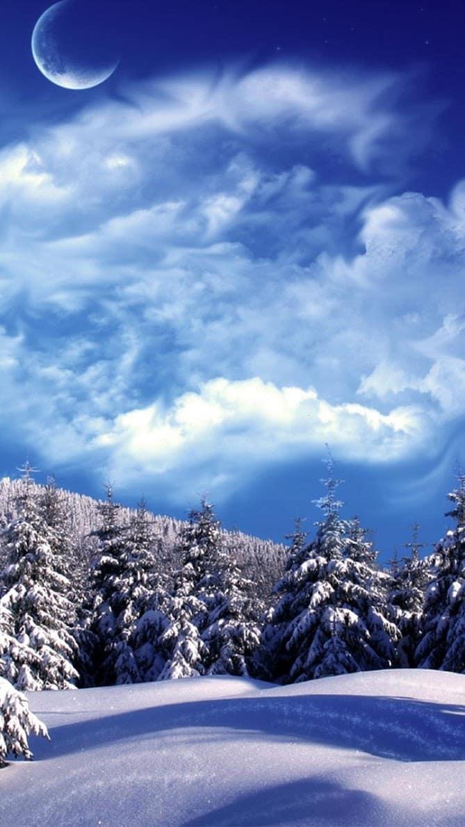 Снежинки скриншот 1