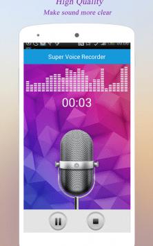 Супер Диктофон скриншот 1
