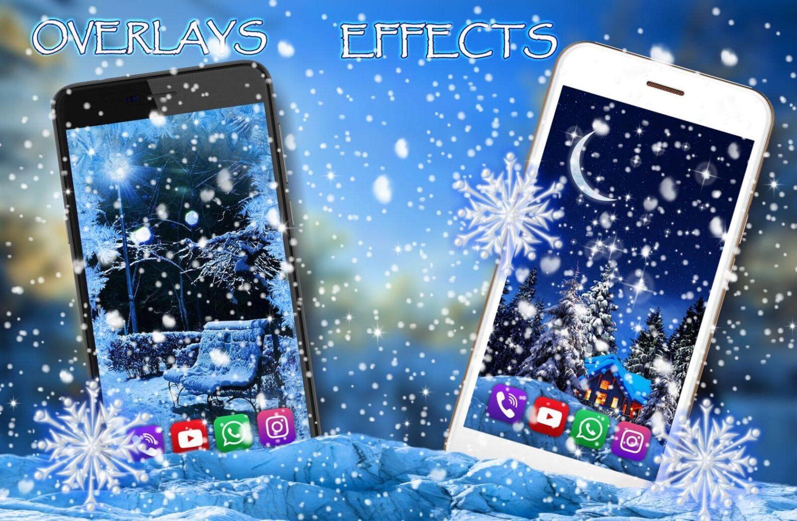 Зима, Снежная Ночь скриншот 3