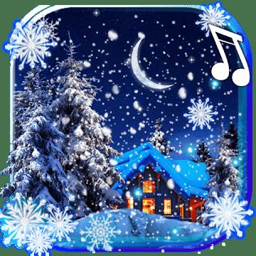 Зима, Снежная Ночь logo