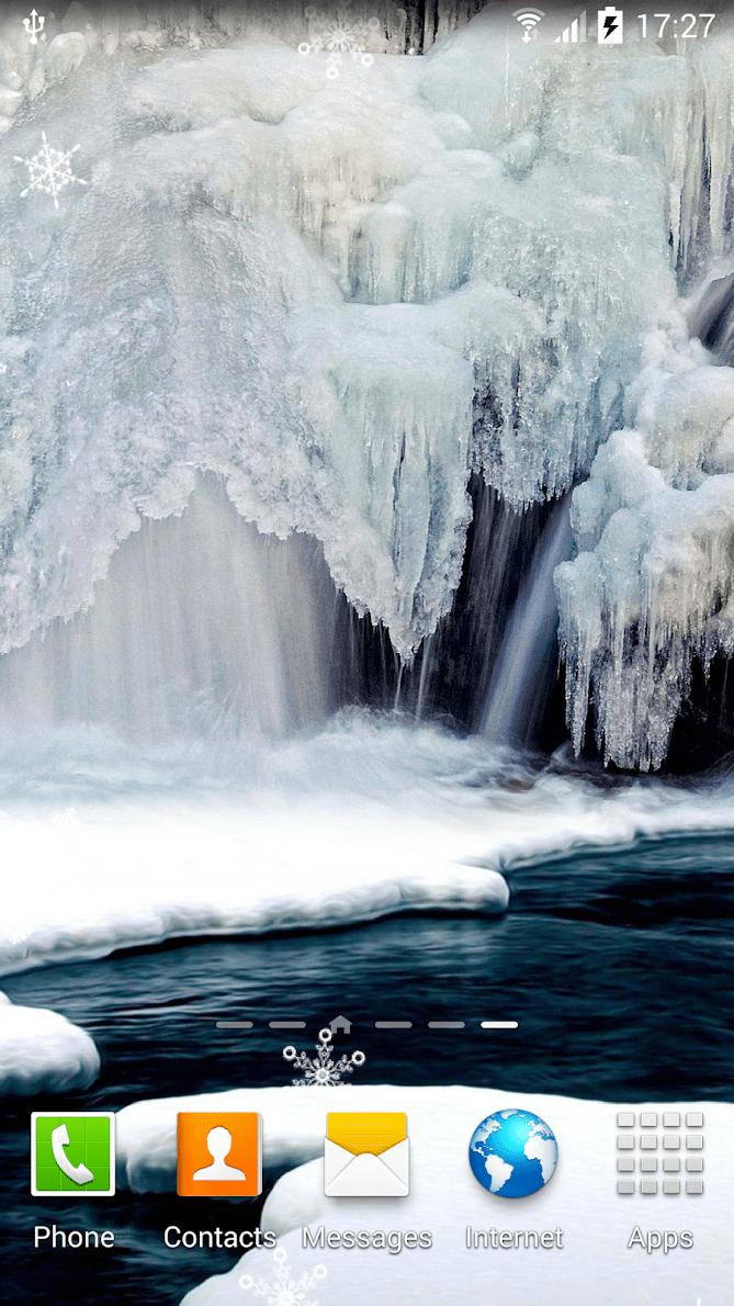 Зимние водопады скриншот 2