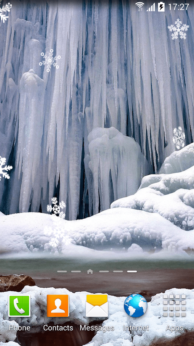 Зимние водопады скриншот 3