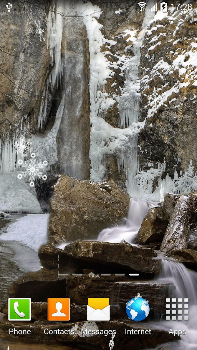 Зимние водопады скриншот 4