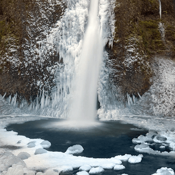 Зимние водопады logo