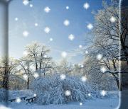 Зимний снег logo