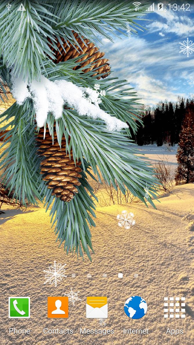 Зима скриншот 2