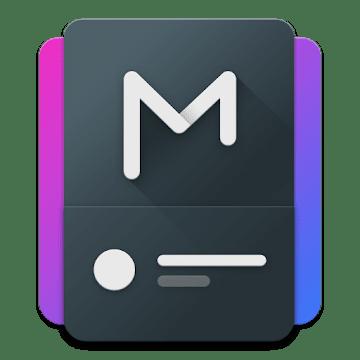 Material Notification Shade logo