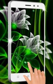 Неоновые цветы скриншот 2
