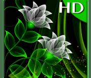 Неоновые цветы logo