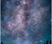 Ночное небо и звезды logo